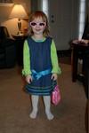 Emberly in her new birthday sunglasses
