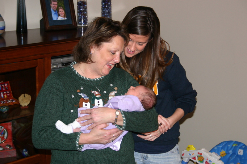 Aunt Lorraine and Amanda