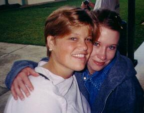 Heather and Sharon