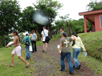 Door-to-Door Evangelism in the Rain
