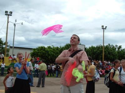 Juggling before the Crusade