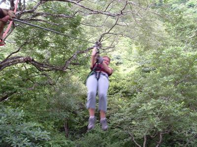 Haley on Zipline