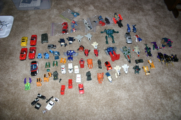 Broken For Parts (plus more not pictured). Let me know if you need spare arms, legs, etc and I might be able to help you out.
