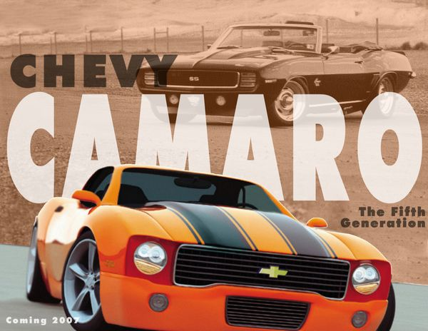 Camero Ad for School Project