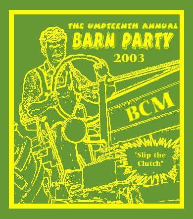 BCM Barn Party T-Shirt Design Idea