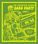 BCM Barn Party T-Shirt Design Idea
