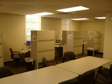 UC Office cubicles