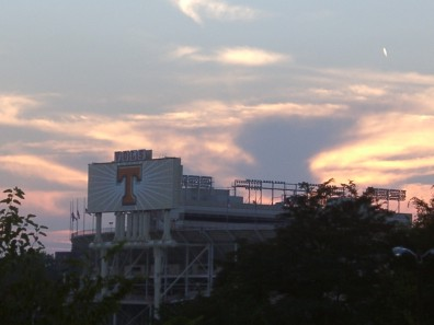 Neyland Stadium Sunset