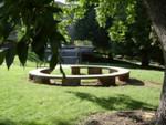 Circle bench