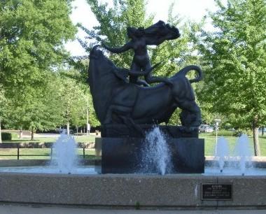 Europa Fountain