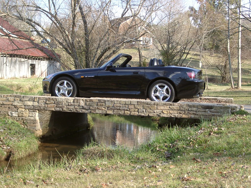 S2000 on bridge